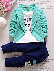 Baby Boys' Indoor Outdoor School Casual/Daily Solid Clothing Set All Seasons