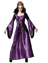 cheap -Vampire Cosplay Costume Adults' Halloween Festival / Holiday Halloween Costumes Fashion Vintage