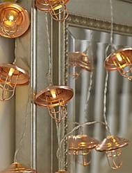 cheap -3M 20Led  Christmas Lampshade Shape Warm White Led Light String Fairy Romance For Home Festive Bedroom Outdoor Decorative Lantern