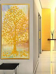 Botanical Framed Art Print Frame Art Wall Art,Alloy Material With Frame For Home Decoration Frame Art Living Room 1 Piece