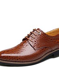 cheap -IMBETTUY Men's Fashion Business Genuine/Real Leather Oxfords Shoes