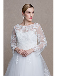 Women's Wrap Shrugs Lace Tulle Wedding Party/ Evening Lace