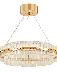 cheap -Rustic/Lodge LED Modern/Contemporary Crystal Bulb Included Designers Pendant Light Ambient Light For Bedroom Study Room/Office Indoor 1760