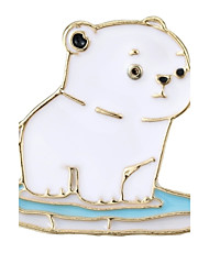 cheap -Women's Brooches Jewelry Animal Design Chrismas Alloy Geometric Bear Jewelry For Wedding Work