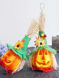 cheap -Woxoyozo Halloween Lights Hollow Luminous Eco-Friendly Foam Small Pumpkin Led Ktv Bar