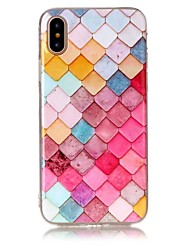 For iPhone X iPhone 8 Case Cover Ultra-thin Pattern Back Cover Case Geometric Pattern Soft TPU for Apple iPhone X iPhone 8 Plus iPhone 8
