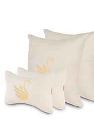 Settore automobilistico Kit di cuscino per poggiatesta e cuscini Per Universali Tutti gli anni Poggiatesta per auto Stoffe