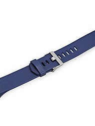 Недорогие -Силиконовые Ремешок для часов Ремень Синий 21cm / 8.27 дюймы 2cm / 0.8 дюймы