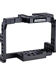 et une cage de caméra en alliage d'aluminium pour sony a7ii a7rii a7sii ildc cameras