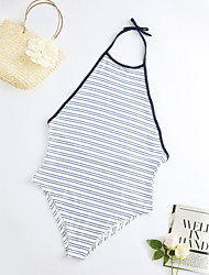 cheap -Women's One-piece - Striped, Modern Style