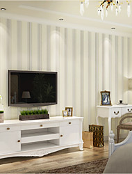 Lines / Waves Wallpaper For Home Classical Archaistic Wall Covering , Non-woven fabric Material Adhesive required 2G Cell Phone , Room