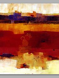 economico -Dipinta a mano Astratto Quadrato, Artistico Tela Hang-Dipinto ad olio Decorazioni per la casa Un Pannello