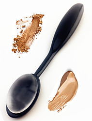 silisponge tannbørste kontur børste blender silikon sminke kosmetisk børste puff for foundation krem pulver