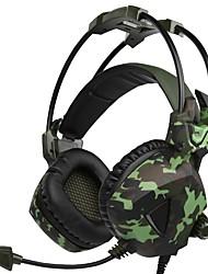 Недорогие -A931 Над ухом Головная повязка Проводное Наушники динамический пластик Игры наушник С регулятором громкости С микрофоном наушники