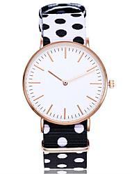 Недорогие -Муж. Жен. Уникальный творческий часы Модные часы Наручные часы Китайский Кварцевый Нейлон Группа Винтаж На каждый день Богемные Elegant