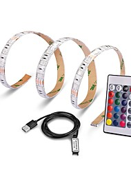 cheap -0.5M USB Port Lamp Tape LED Strip Light RGB IP65 Waterproof Ribbon 5050 SMD For TV Background Decorative Lighting Lantern flexible Strip DC5V