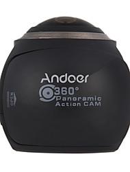 preiswerte -Panoramakamera Hochauflösend WiFi Wasserfest Einfach zu tragen Weitwinkel 4K