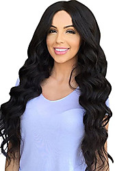 cheap -Women Synthetic Wig Capless Long Loose Wave Black Middle Part Natural Wigs Costume Wig