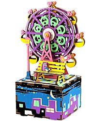 Недорогие -музыкальная шкатулка Знаменитое здание Колесо обозрения Своими руками Детские Взрослые Дети Подарок Универсальные Подарок