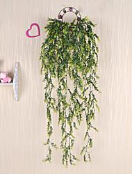 1 Une succursale Plastique Plantes Guirlande et Fleur Murale Fleurs artificielles