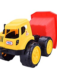 cheap -Toy Car Wheel Loader Vehicles Excavating Machinery Simple Large Size Soft Plastic Boys' Kid's Gift 1pcs