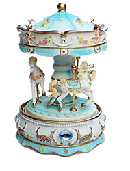 cheap -Music Box Toys Furnishing Articles Horse Carousel Cartoon Plastics Romantic 1 Pieces Not Specified Birthday Gift