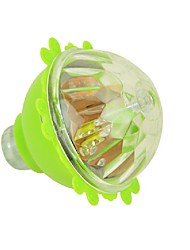 cheap -Children Flash Colorful Light Plastic Spinning Peg Top Toy Rotating Luminous Gyroscope Spinning Gyro Ramdon Color