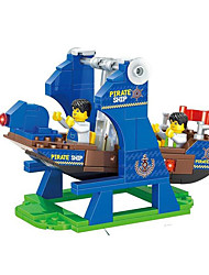 cheap -Building Blocks Pirate Novelty / Ship / Pirate Ship Transformable Unisex Gift