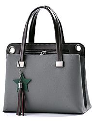 cheap -Women's Bags PU Shoulder Bag Zipper for Casual Office & Career Winter All Seasons Dark Blue Gray Purple Army Green Wine