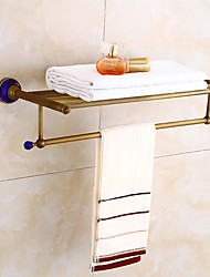 baratos -Antiguo toalheiro de banho toalheiro de banho porta estilo Europeu de toalha retro