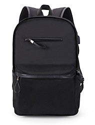 cheap -Men Bags Canvas Laptop Bag for Casual Outdoor All Seasons Black Dark Gray