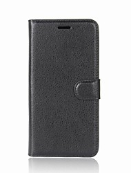 cheap -Case For Alcatel alcatel Idol 5 alcatel A7 Card Holder Wallet Flip Magnetic Full Body Cases Solid Color Hard PU Leather for Alcatel U5 HD