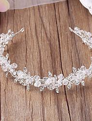 preiswerte -Kristall Strass Legierung Tiaras Stirnbänder Kopfschmuck eleganten Stil