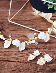 Women's Girls' Fashion Wedding Evening Party Alloy Hair Jewelry Earrings