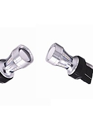 cheap -2X Sunshine Series 18W 3 Colors Selective LED Exterior Lights(T10 W5W T15 W16W 1156 1157 3156 3157 7440 7443)