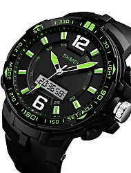 cheap -SKMEI 1273 Men's Woman Waterproof Multi - Functional Outdoor Sports Watch Luminous High - End Table