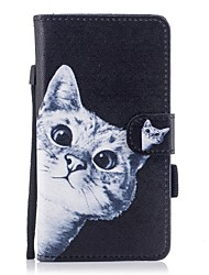 cheap -Case For Samsung Galaxy J7 (2017) J5(2016) J3 (2017) J3(2016) Card Holder Wallet with Stand Flip Magnetic Pattern Full Body Cases Cat Hard