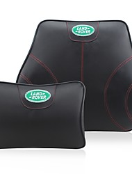 Automotive Headrest & Waist Cushion Kits For Land Rover All years All Models Car Waist Cushions Leather