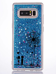 cheap -For Case Cover Flowing Liquid Pattern Back Cover Case Dandelion Hard PC for Samsung Galaxy Note 8 Note 5 Note 4 Note 3
