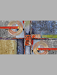 cheap -Hand-Painted Abstract Horizontal, Abstract Canvas Oil Painting Home Decoration One Panel
