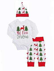 Baby Boy's Indoor Outdoor Daily Print Clothing Set Spring/Fall Winter