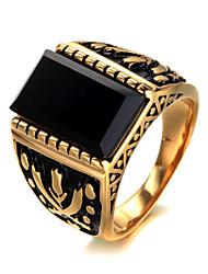 cheap -Men's Ring - Luxury, Vintage, Punk 7 / 8 / 9 Gold / Silver For Birthday / Gift / Daily