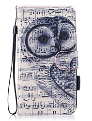 cheap -Case For Huawei P10 Lite Card Holder Wallet with Stand Flip Magnetic Pattern Full Body Cases Owl Hard PU Leather for P10 Lite P8 Lite