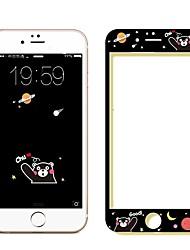 Недорогие -AppleScreen ProtectoriPhone 6s HD Защитная пленка на всё устройство 1 ед. Закаленное стекло / Уровень защиты 9H / Взрывозащищенный
