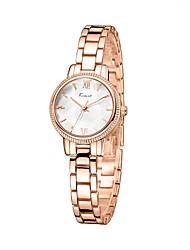 cheap -Women's Quartz Wrist Watch Japanese Water Resistant / Water Proof Alloy Band Luxury Vintage Casual Dress Watch Minimalist Fashion Silver
