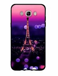 cheap -For Case Cover Pattern Back Cover Case City View Soft TPU for Samsung Galaxy J7 (2016) J7 (2017) J7 V J7 Perx J7 J5 (2016) J5 (2017) J5