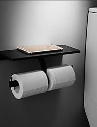 economico -Porta rotolo di carta igienica Appendi-accappatoio Bronzo lucidato Montaggio a muro