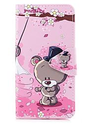 preiswerte -Hülle Für Samsung Galaxy J5 (2017) J5 (2016) Kreditkartenfächer Geldbeutel mit Halterung Flipbare Hülle Muster Ganzkörper-Gehäuse Cartoon
