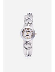 JUBAOLI Dámské Módní hodinky Náramkové hodinky čínština Křemenný Slitina Kapela Přívěsek Cool Běžné nošení Stříbro