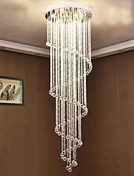 cheap -Artistic Nature Inspired LED Chic & Modern Traditional/Classic Country Modern/Contemporary Crystal Bulb Included Designers Chandelier